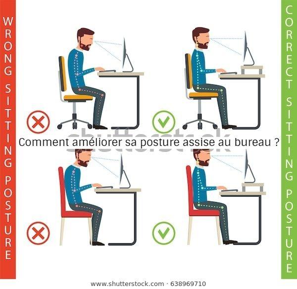 Comment améliorer sa posture assise au bureau ?