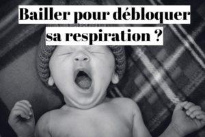 Difficulté à respirer: faut-il bâiller?